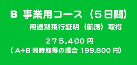 事業用コース(5日間)